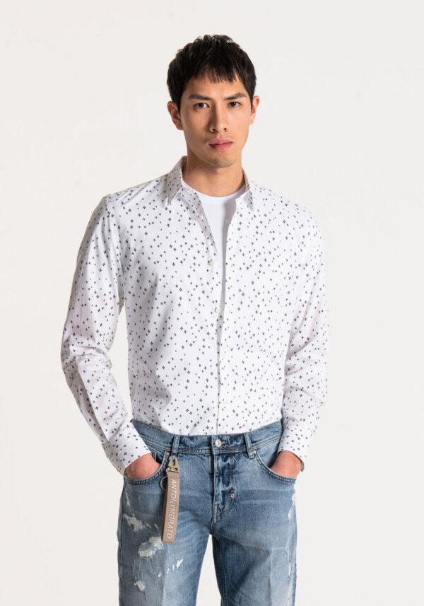 zanaga antony morato morato chemise motif geo sl fa