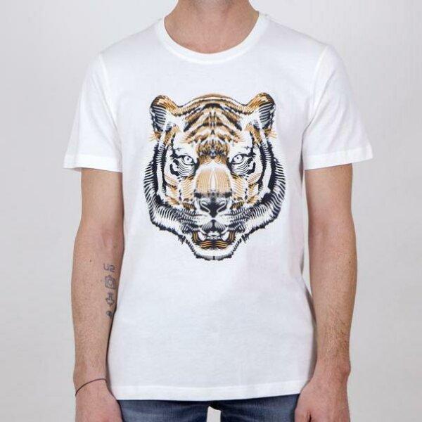 zanaga antony morato morato tshirt tigre blanccouleur ks fa