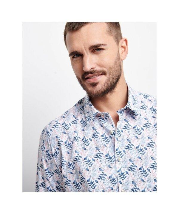 zanaga delahaye delahaye chemise bleu