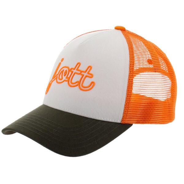 zanaga jott casquettes homme orange blanc kak casquette adultes jott