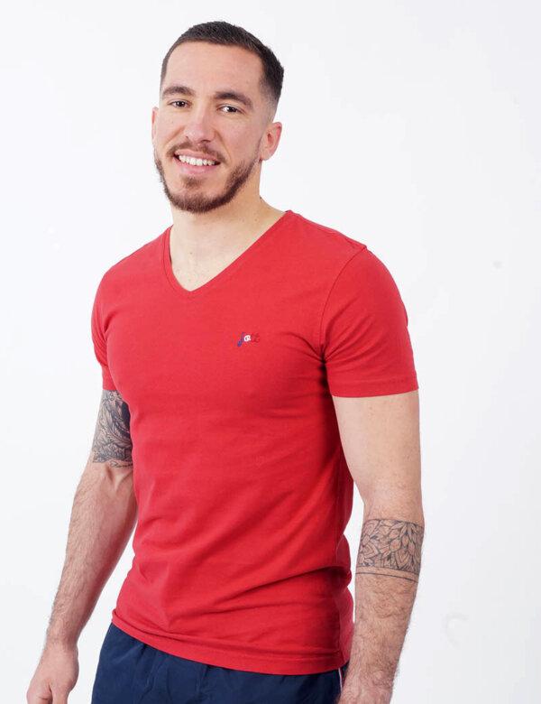 zanaga jott jott tshirt rouge