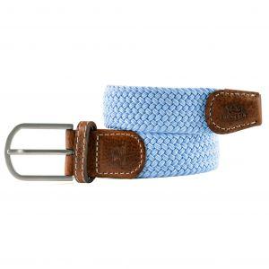 zanaga billybelt ceinture tressee elastique brise bleu cm