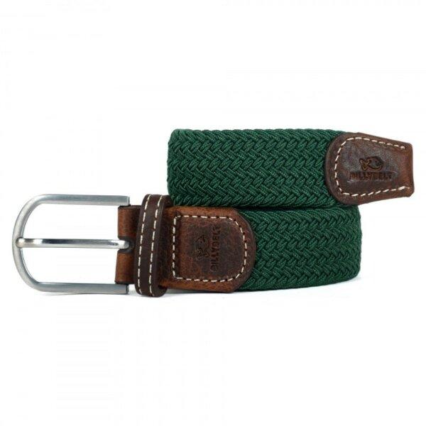 zanaga billybelt ceinture tressee elastique vert imperialcm